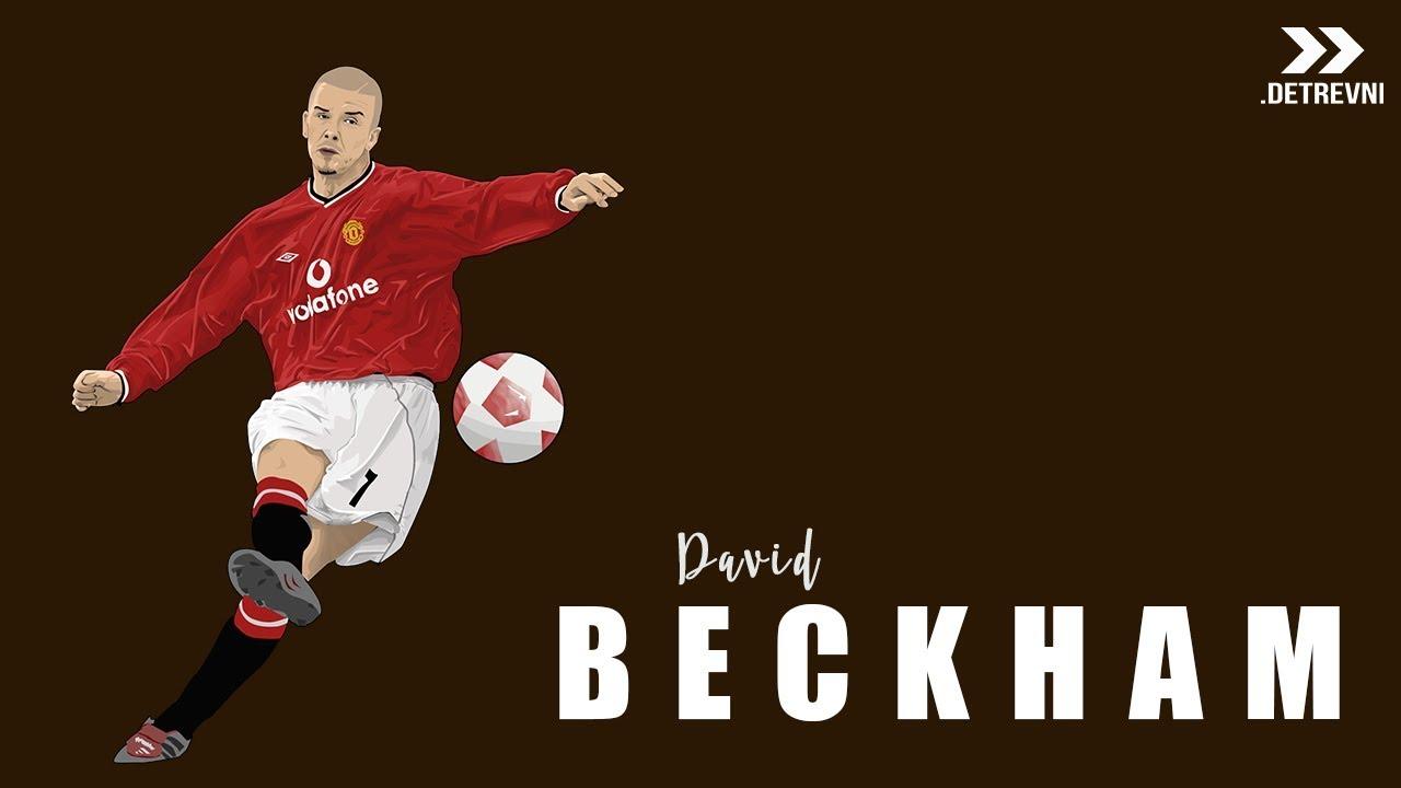 1280x720 David Beckham Vector Art Part I Speed Art Inverted Project