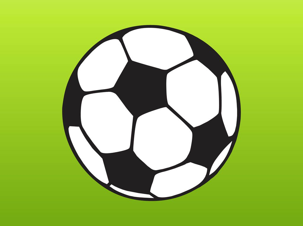 1024x765 Football Cartoon Vector Vector Art Amp Graphics