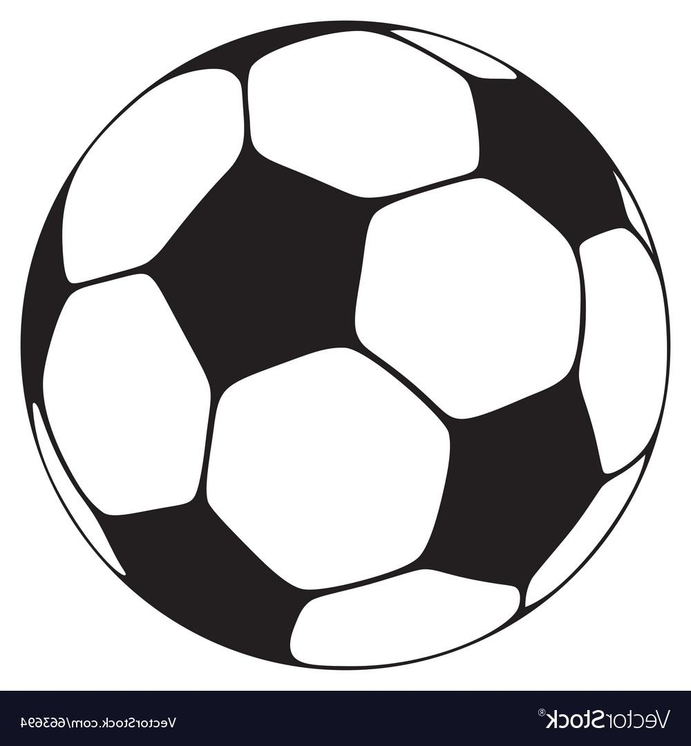 1000x1080 Top Soccer Ball On Field Vector Library Free Vector Art, Images