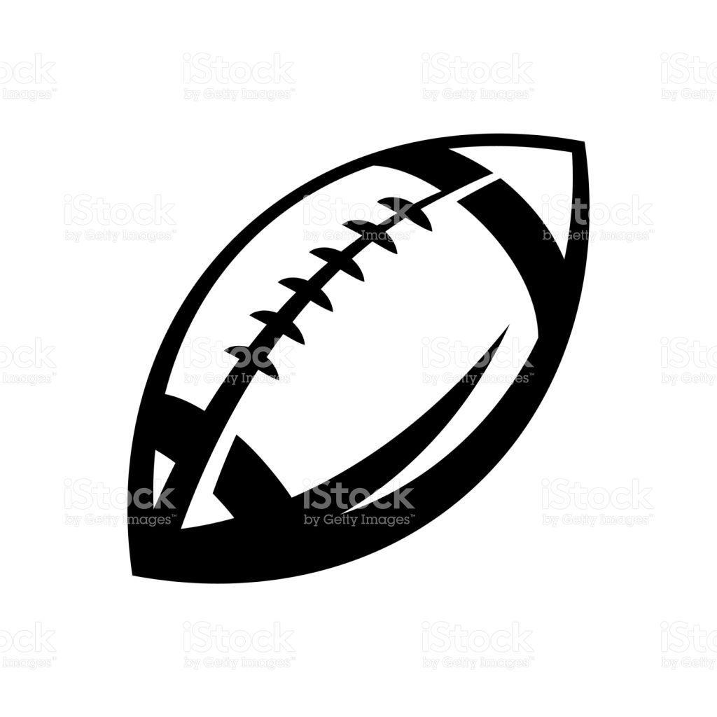 1024x1024 American Football Vector Black And White Footballupdate.co
