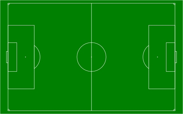 594x372 Football Field Soccer Field Football Pitch Clip Art Free Vector In