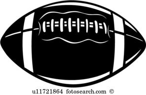 Football Vector Clipart