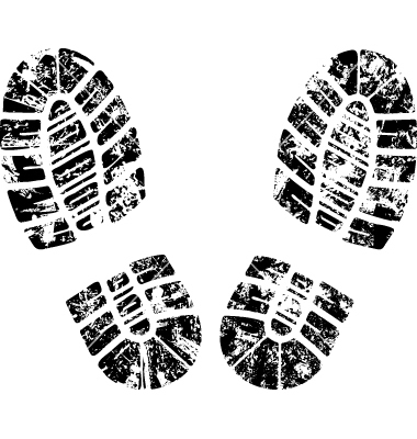 Footprint Free Vector