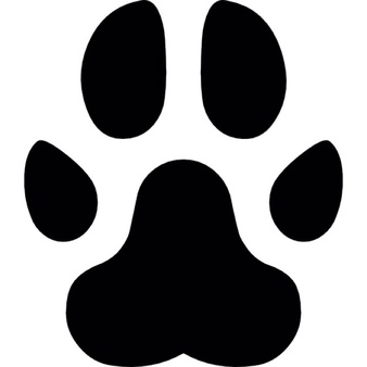 338x338 Paw Clipart Footprint ~ Frames ~ Illustrations ~ Hd Images ~ Photo