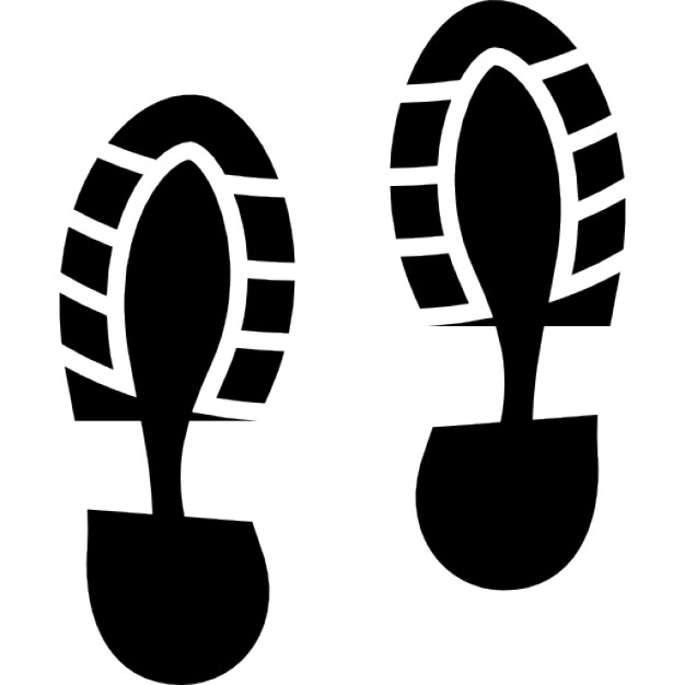 626x626 Shoes Footprints Pair Icons Free Download