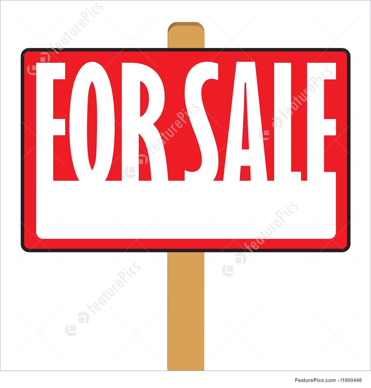 1300x1360 For Sale Sign Illustration
