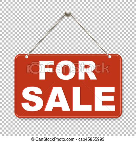 449x470 For Sale Sign With Transparent Background With Gradient Mesh