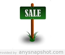 262x223 Free Vector For Sale Sign
