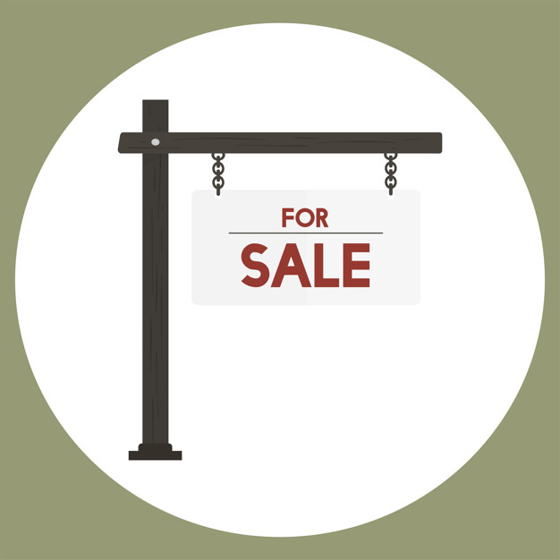 626x626 Illustration Of For Sale Sign Vector Vector Free Download