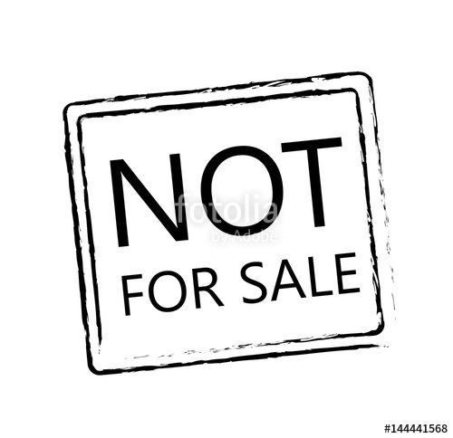 500x484 Not For Sale Sign Stock Image And Royalty Free Vector Files On