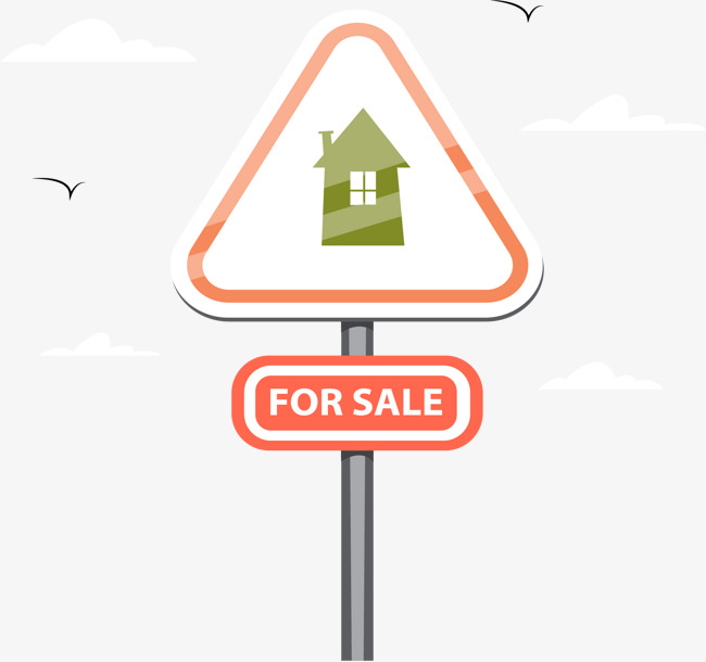 650x610 Triangle Houses For Sale Signs, Triangle Vector, Sale Vector