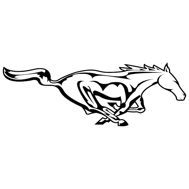 660x660 Mustang Logo Vector Shot On Cars