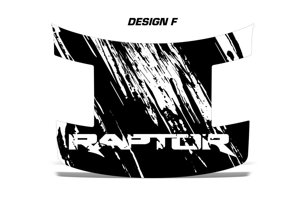 1000x660 Ford Raptor F150 Svt Truck Full Hood Wrap Graphic Sticker Decal