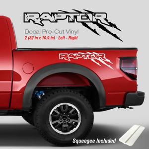 300x300 Ford Raptor Svt F150 Sport Truck Sticker Vinyl Decals Scratches