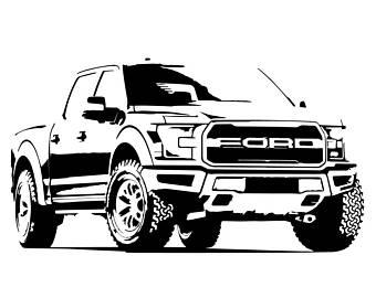 340x270 Ford Oval Blue Logo Emblem Vector Vectorized Print Ultra High Etsy