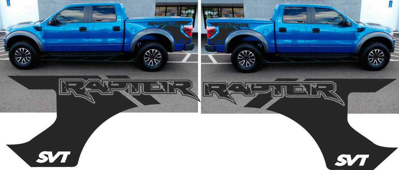 1290x551 Product Ford F 150 Raptor Svt Bed Decals Graphics Stickers Chatter