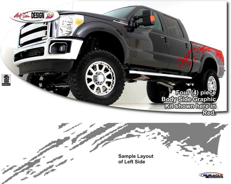 750x598 Ford Ranger Raptor Stickers