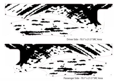 400x287 F 150 Ford Raptor Svt Digital Mud Splash Decal Graphics Decals