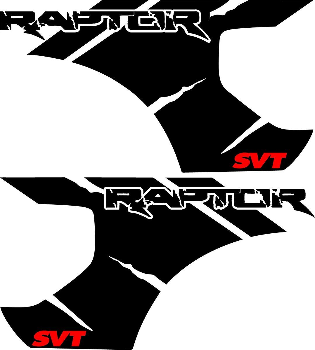 1078x1200 Ford Raptor F 150 Svt Bed Vinyl Graphic Decals Stickers Fits