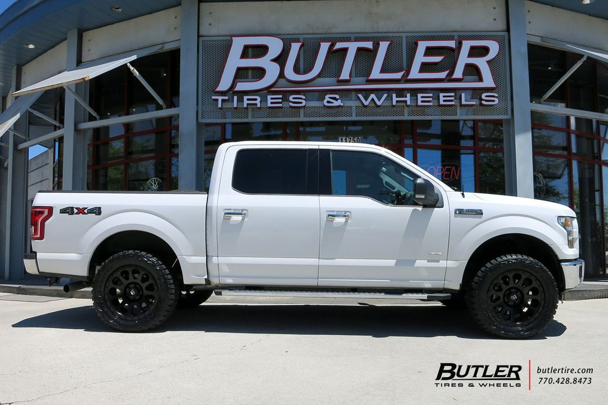 1200x800 Ford F150 With 20in Fuel Vector Wheels Ford F150