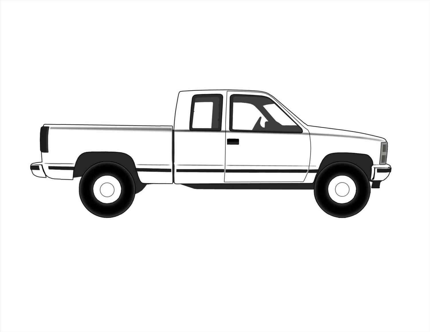 ford truck vector at getdrawings com