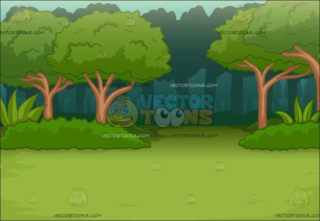 Forest Background Vector