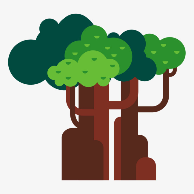 650x651 Vector Forest Tree, Forest Vector, Tree Vector, Tree Clipart Png