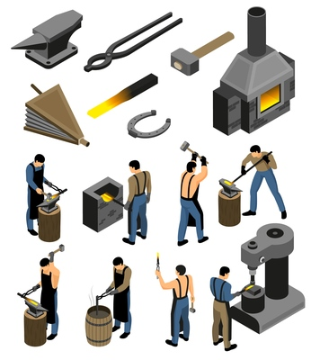 346x400 Page 1 Forge On Curated Vector Illustrations, Stock Royalty Free