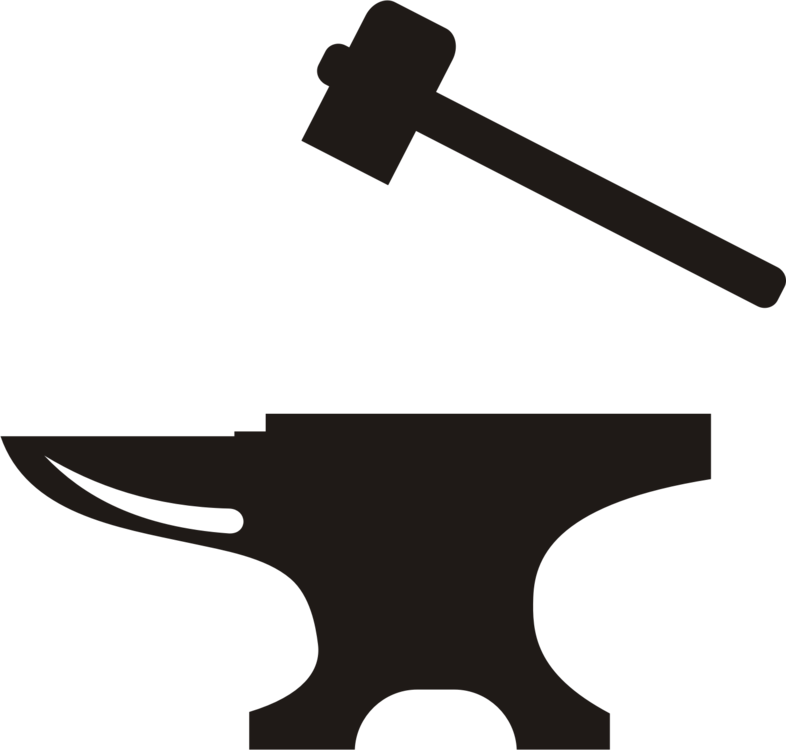 786x750 Collection Of Free Vector Hammer Blacksmith. Download On Ubisafe
