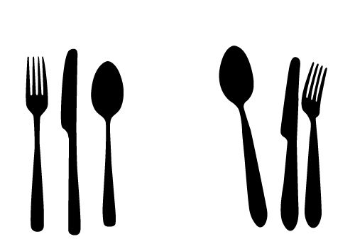 500x350 Free Spoon Knife And Fork Vectors For Your Kitchen Designs