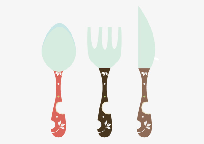 650x461 Spoon Fork Knife Vector, Vector, Hand Painted, Spoon Png And
