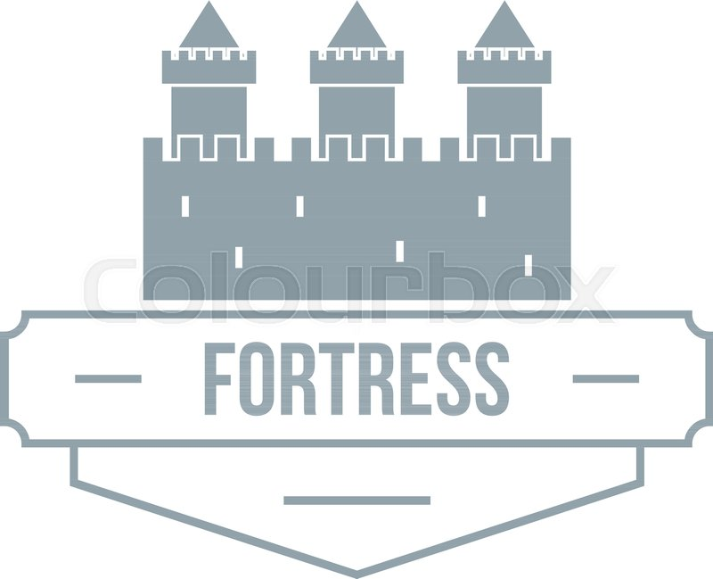 800x649 Luxury Fortress Logo. Simple Illustration Of Luxury Fortress