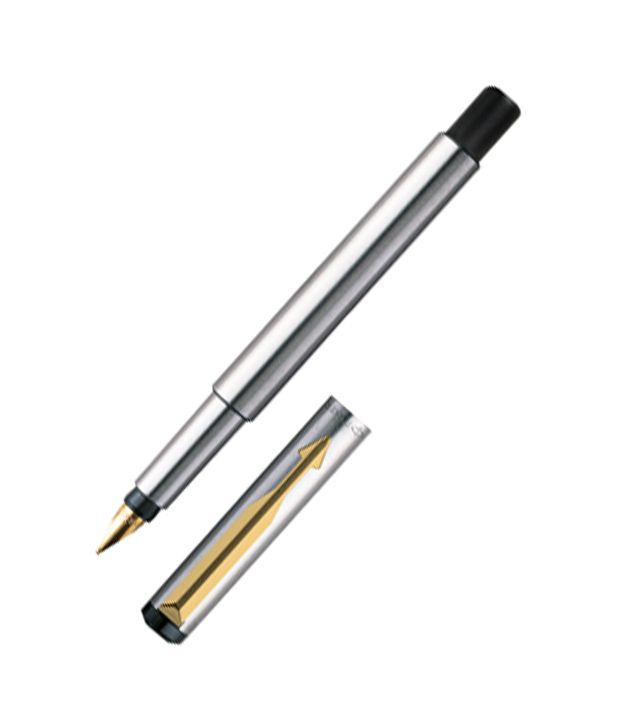 620x726 Parker Vector Stainless Steel (Gold Nib)gt Fountain Pen Buy