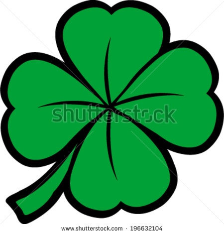 450x470 19 Clover Icon Vector Images