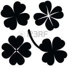 236x236 Four Leaf Clover Vector Illustration Of Green Clover Picture