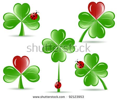 450x386 Four Leaf Clover Vector Clip Art Free Vector In Open Office