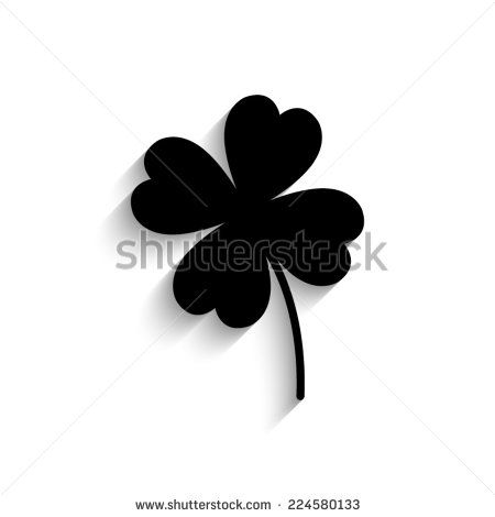 450x470 214,505 Best Four Leaf Clover Vector Art Free Vector Download