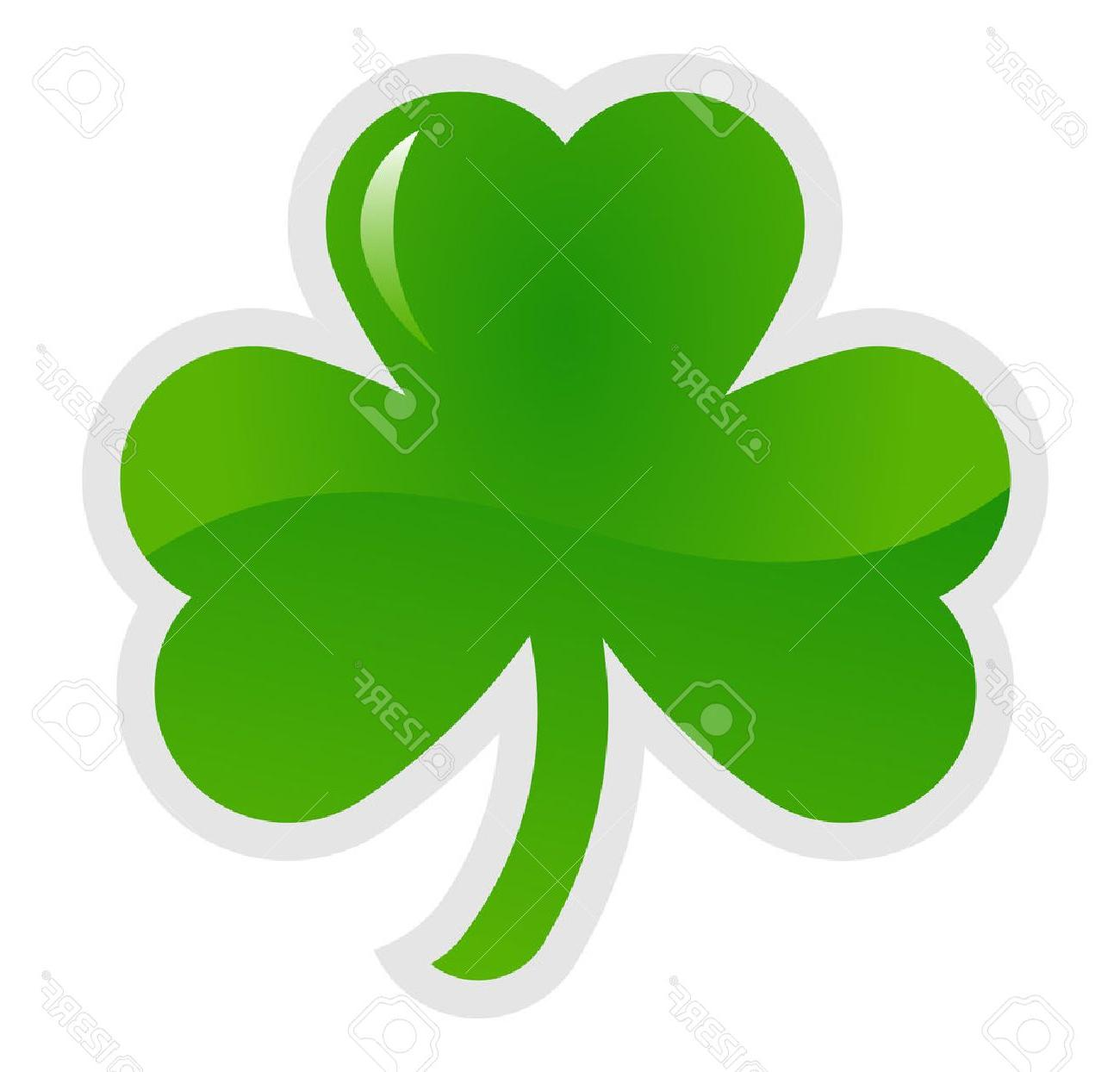 1300x1244 Best Free 3 Leaf Clover Vector Pictures Free Vector Art, Images