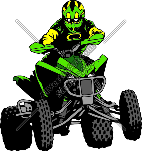 472x500 Four Wheeler Clipart Group With Items