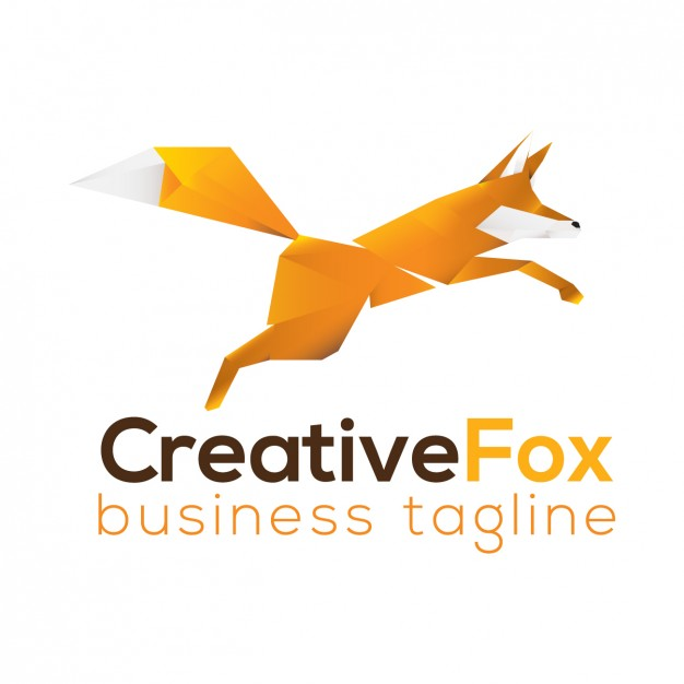 626x626 Fox Logo Template Vector Free Download
