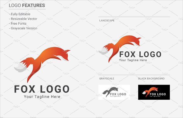 600x388 Fox Logo Templates