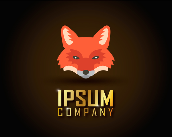 600x480 Fox Logo Company Vector Design 03
