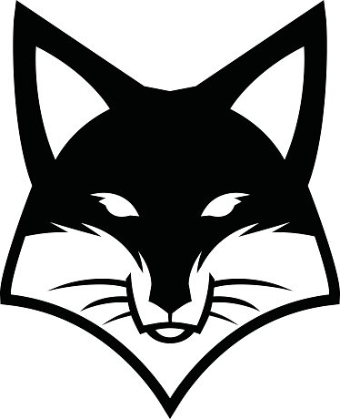 374x460 Fox Face Logo Vector Icon Premium Clipart
