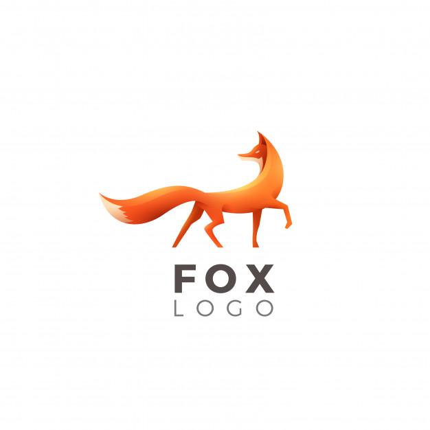626x626 Fox Logo Vector Premium Download