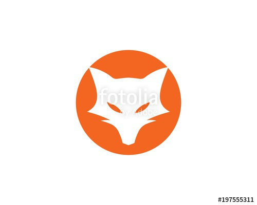 500x400 Fox Logo Vector Stock Image And Royalty Free Vector Files On