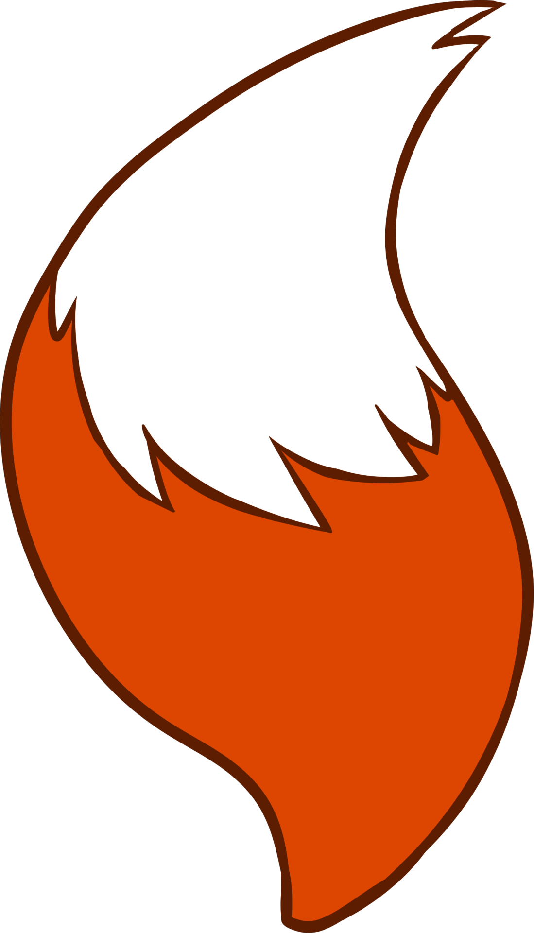 Fox Tail Vector