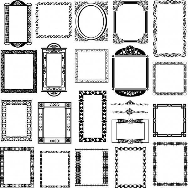 600x600 Frame Border Free Vector Download (8,281 Free Vector) For