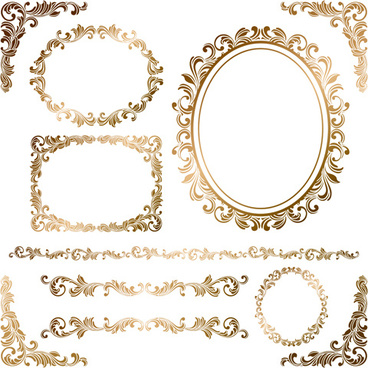 368x368 Gold Frame Border Vector Free Vector Download (10,116 Free Vector