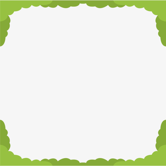 650x651 Green Border Vector, Green Vector, Border Vector, Frame Png And