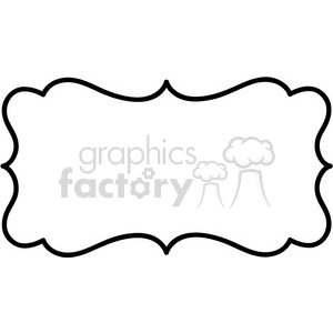 300x300 Royalty Free Lines Frame Swirls Boutique Sign Design Border Vector